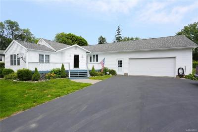 Chautauqua County Single Family Home A-Active: 12822 Breeze Avenue