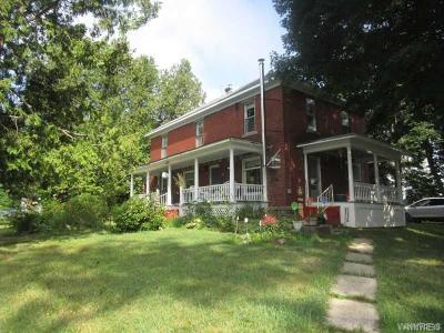Cattaraugus Single Family Home A-Active: 9400 Wickham Road