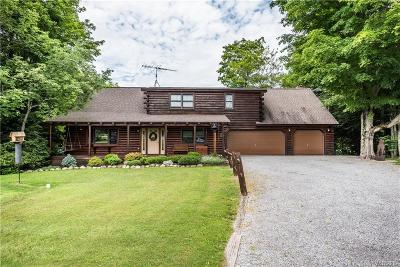 Colden Single Family Home A-Active: 9642 Phillips Road