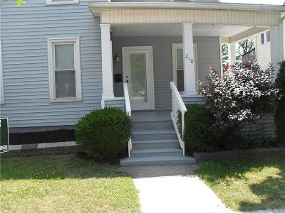Niagara County Single Family Home A-Active: 218 North Transit Street