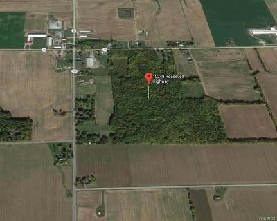 Orleans County Residential Lots & Land A-Active: 10248 Roosevelt Highway