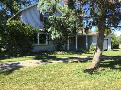 Orleans County Single Family Home A-Active: 13013 Roosevelt Road