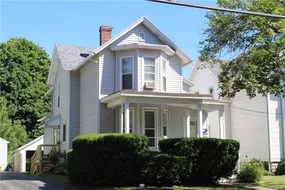 Genesee County Multi Family 2-4 A-Active: 12 Ellicott Avenue