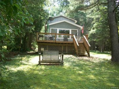 Allegany County, Cattaraugus County Single Family Home A-Active: 8680 County Road 49