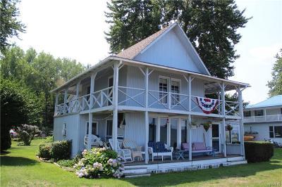 Carlton Single Family Home A-Active: 14385 Oak Orchard On The Lake Road