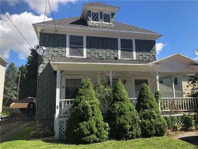 Batavia-City NY Single Family Home A-Active: $39,900