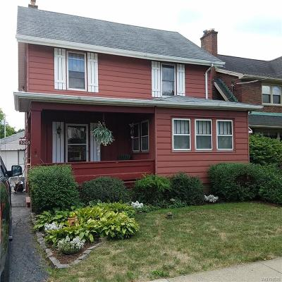 Niagara Falls NY Single Family Home U-Under Contract: $88,000