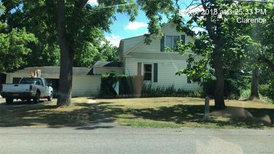 Clarence Single Family Home A-Active: 10865 Bodine Road