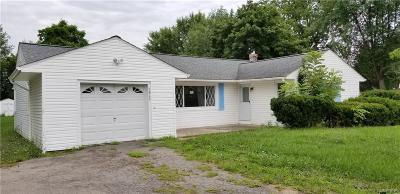 Niagara County Single Family Home A-Active: 3865 Ransomville Road
