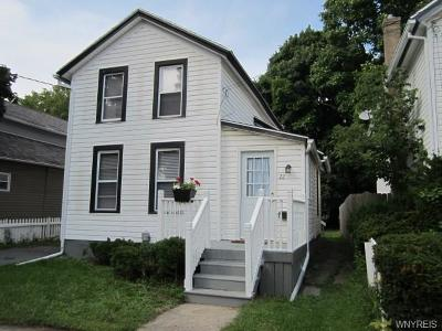 Batavia-City NY Single Family Home A-Active: $66,500