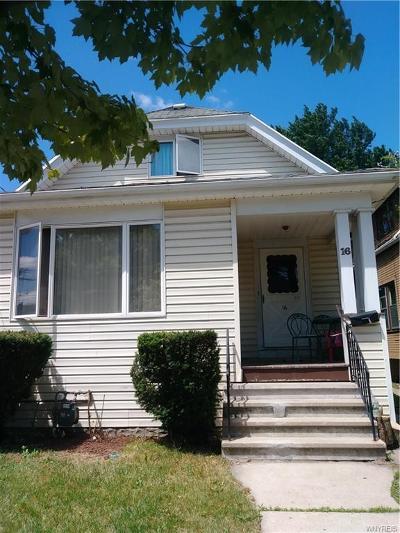 Buffalo NY Single Family Home A-Active: $49,900