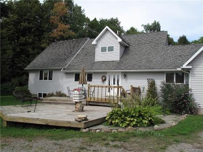 Orleans County Single Family Home A-Active: 12786 Kendrick Road