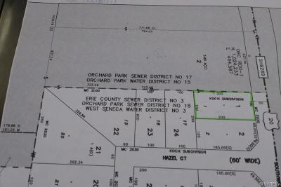 Orchard Park Residential Lots & Land A-Active: 2276 Southwestern Blvd.