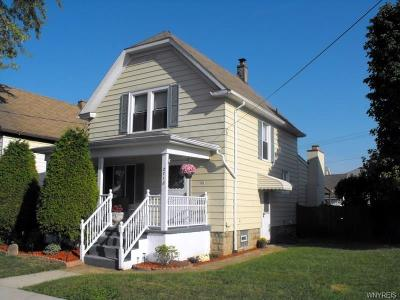Niagara Falls NY Single Family Home U-Under Contract: $82,900