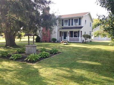 Single Family Home A-Active: 2498 Youngstown Lockport Road