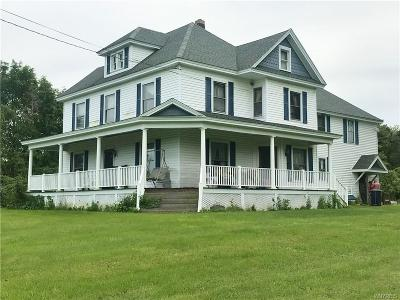 Niagara County Single Family Home U-Under Contract: 4594 Wilson Burt Road