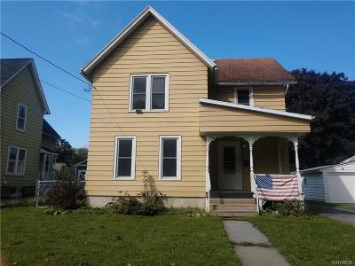 Warsaw Single Family Home U-Under Contract: 75 Center Street