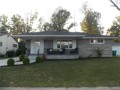 Niagara Falls NY Single Family Home P-Pending Sale: $144,900