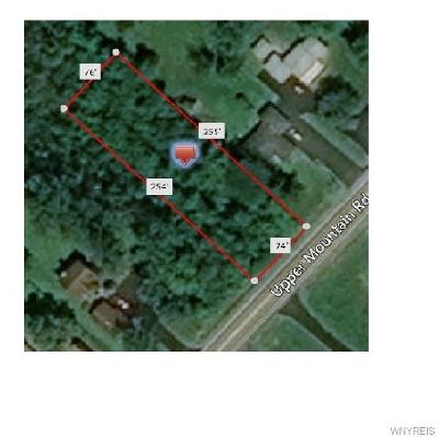 Lewiston Residential Lots & Land A-Active: V/L Upper Mountain Road