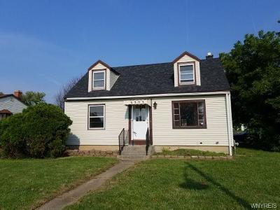 Erie County Single Family Home A-Active: 3303 Harlem Road