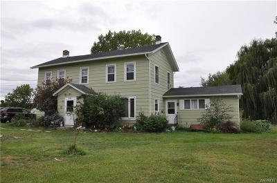 Orleans County Single Family Home U-Under Contract: 4190 Salt Works Road