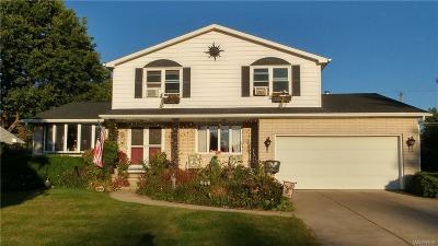 West Seneca Single Family Home A-Active: 129 Sibley Driv
