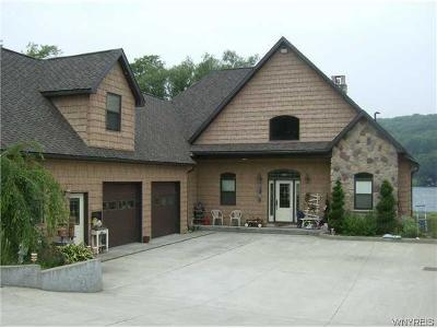 Allegany County, Cattaraugus County Single Family Home A-Active: 72 South Shore Road