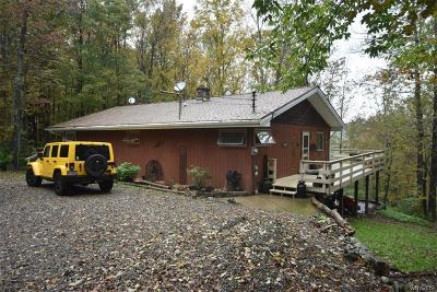 Allegany County, Cattaraugus County Single Family Home A-Active: 1298 Slab City Road