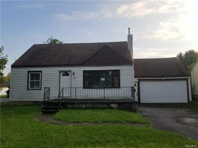 Cheektowaga Single Family Home A-Active: 81 Huth Road