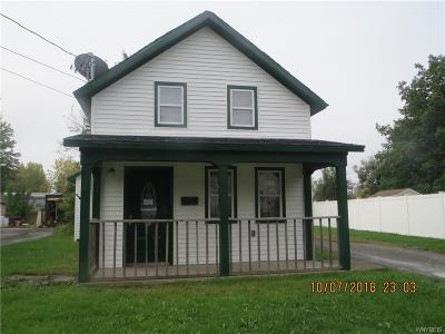 Niagara County Single Family Home P-Pending Sale: 436 Niagara Street