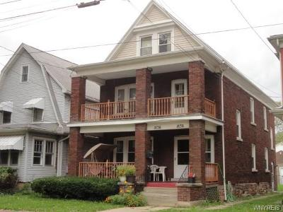Niagara County Multi Family 2-4 A-Active: 1836 Willow Avenue