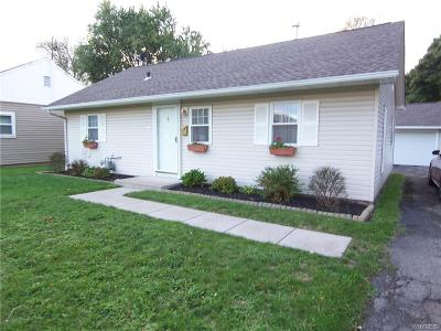 Niagara County Single Family Home A-Active: 131 Davison Road
