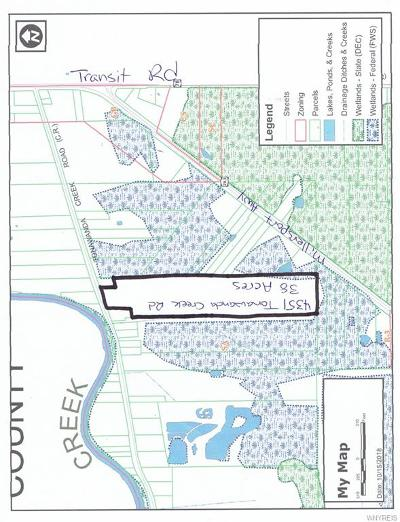 Erie County Residential Lots & Land A-Active: 4351 Tonawanda Creek Road