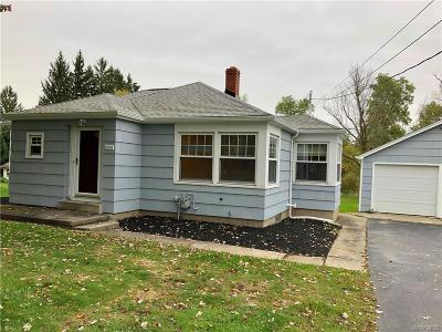 Single Family Home A-Active: 9354 Clarence Center Road