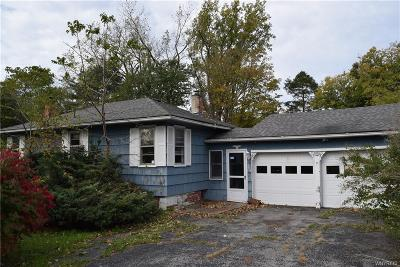 Genesee County Single Family Home A-Active: 7614 Bank Street Road