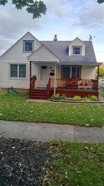 Niagara Falls NY Single Family Home U-Under Contract: $115,000