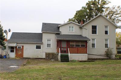 Niagara Falls Single Family Home U-Under Contract: 1847 Tuscarora Road