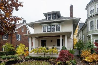 Buffalo Single Family Home P-Pending Sale: 81 Cleveland Avenue