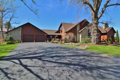 Single Family Home A-Active: 7478 Tonawanda Creek Road
