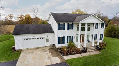Single Family Home A-Active: 6386 Tonawanda Creek Road