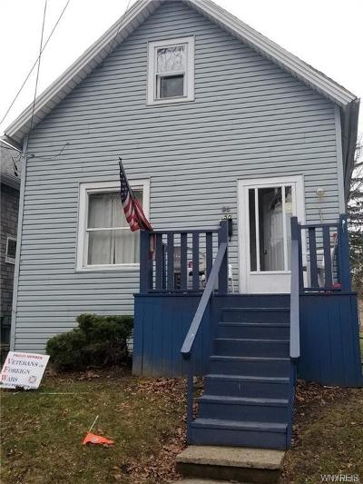 Buffalo NY Single Family Home A-Active: $60,000