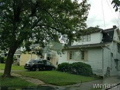 Buffalo NY Single Family Home A-Active: $73,750