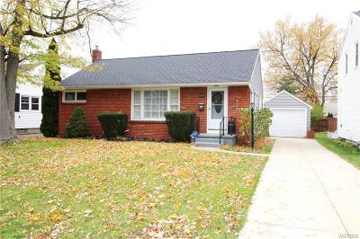 Buffalo NY Single Family Home U-Under Contract: $124,888