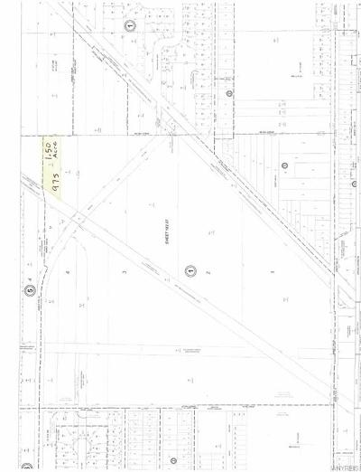 North Tonawanda Residential Lots & Land U-Under Contract: 975 Meadow Drive