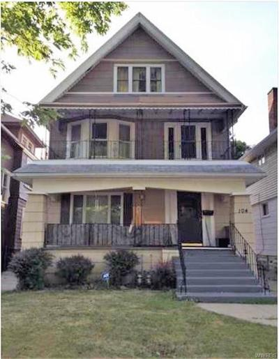 Buffalo Multi Family 2-4 U-Under Contract: 104 Roanoke Parkway