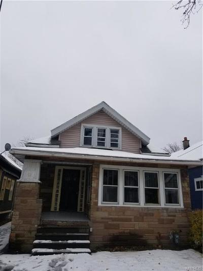 Buffalo NY Single Family Home A-Active: $74,900