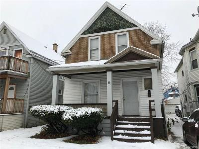 Buffalo NY Single Family Home A-Active: $59,900