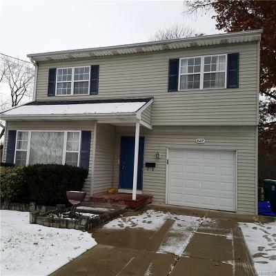 Niagara Falls NY Single Family Home A-Active: $129,900