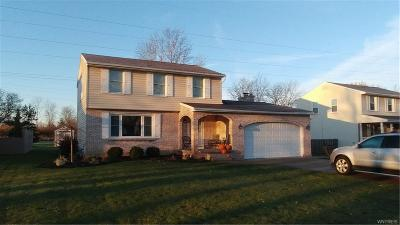 Grand Island Single Family Home A-Active: 321 Colonial Drive