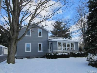 Genesee County Single Family Home A-Active: 10307 Creek Road